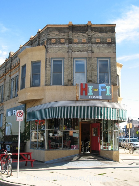 MKE Album: Building -- Hi Fi Cafe -- Milwaukee, Wisconsin, USA